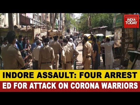 Coronavirus Outbreak: Four Arrested In Indore For Attack On Health Staff, Doctors Call On Amit Shah