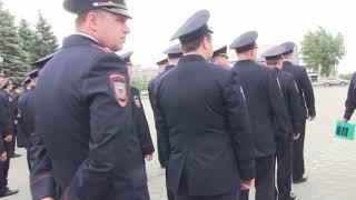 В рамках празднования 300 лет российской полиции в Оренбурге прошел флешмоб