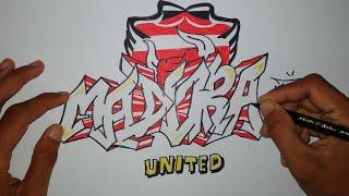 Download Video Cara menggambar graffiti madura united MP3 3GP MP4