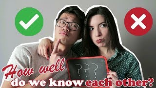 HOW WELL DO WE KNOW EACH OTHER CHALLENGE AMWF (SUB ESP) Video