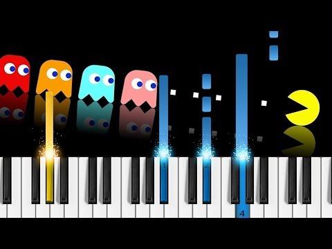 PAC-MAN - Original Theme - Piano Tutorial / Piano Cover