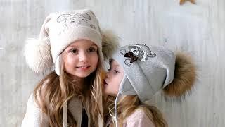 Шапки для девочек осень-зима 2018