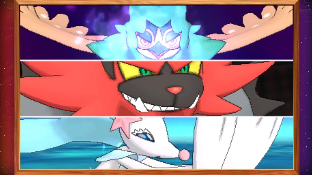 Les Capacites Z Exclusives Des Pokemon De Depart Youtube