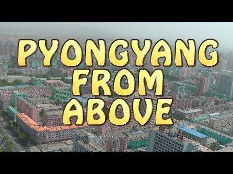 The Juche Tower in Pyongyang North Korea
