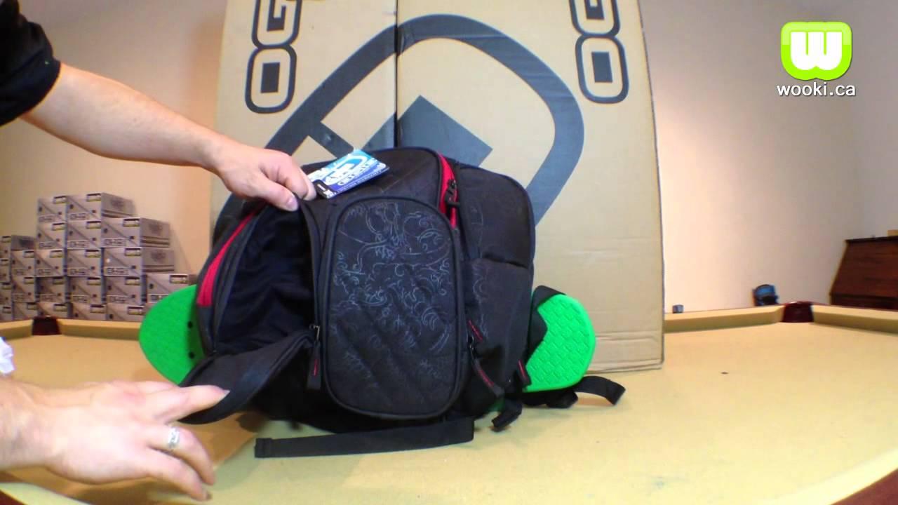 Wooki.ca Ogio Binge snowboard backpack overview - YouTube