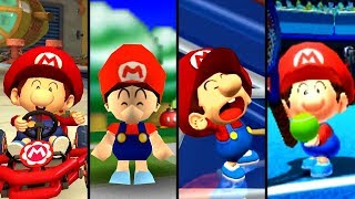 Evolution of Baby Mario (1995-2019)