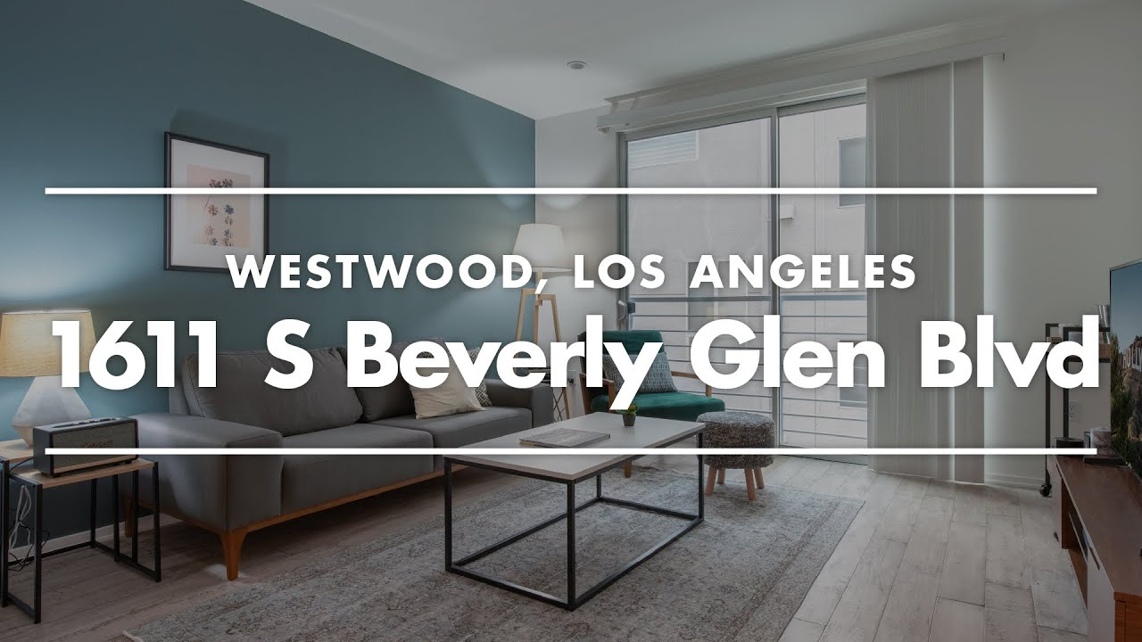 One Bedroom LA Apartment Tour | Furnished Home in Westwood ...