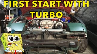 First I broke it, then I fixed it. DIY Turbo Miata First Start