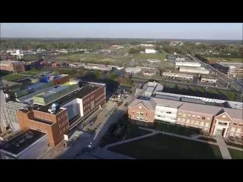 Drone Flying at Salisbury University