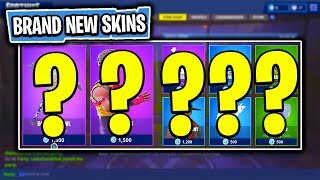 The BRAND NEW Daily Skin Items In Fortnite: Battle Royale! (Skin Reset #26)