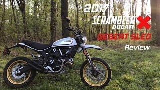 2017 Ducati Scrambler Desert Sled Review