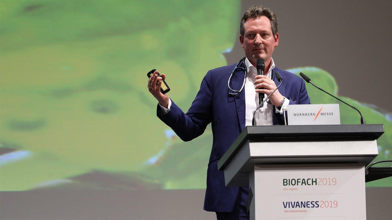 Highlights der Eröffnung der BIOFACH und VIVANESS 2019 mit Dr. Eckart von Hirschhausen