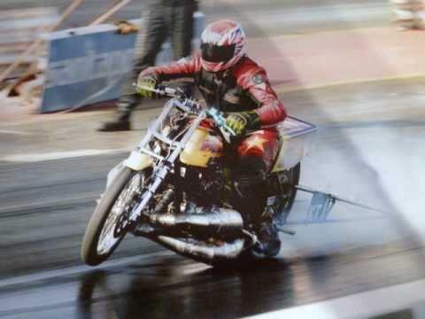 Kawasaki Triple Dragbike Super Eliminator Youtube