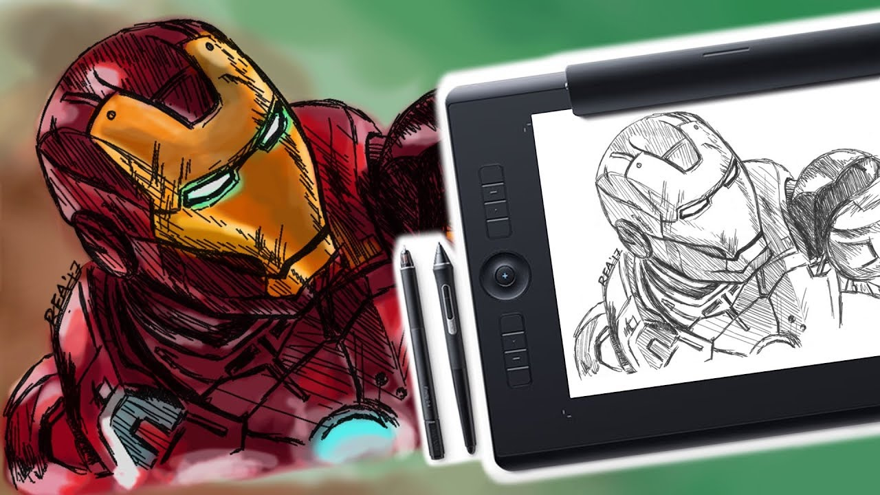 Wacom Intuos Pro Paper Review | Digital Drawing Tablet