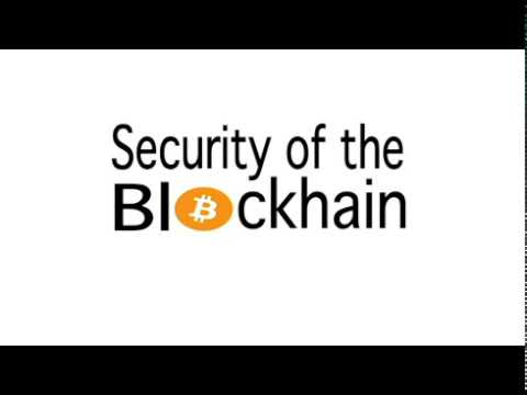 Hack Secure Dinner Series: Security of the Blockchain (Slides)