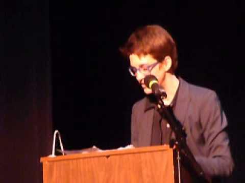 Rachel Maddow 13 April 2013 Tivoli Theater, Pt. 1