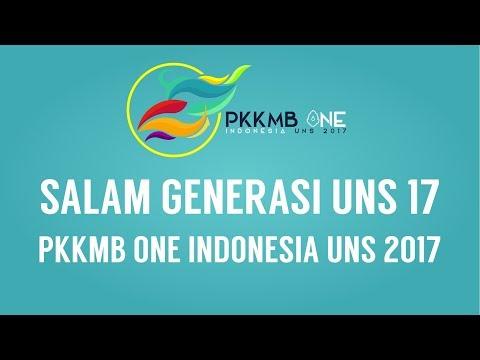 Salam Generasi 17 PKKMB One Indonesia UNS 2017