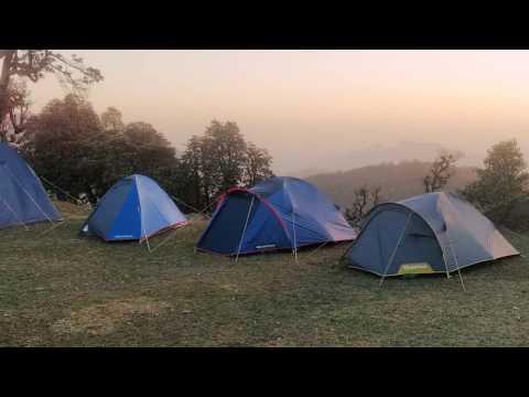 Hill top camping Fun