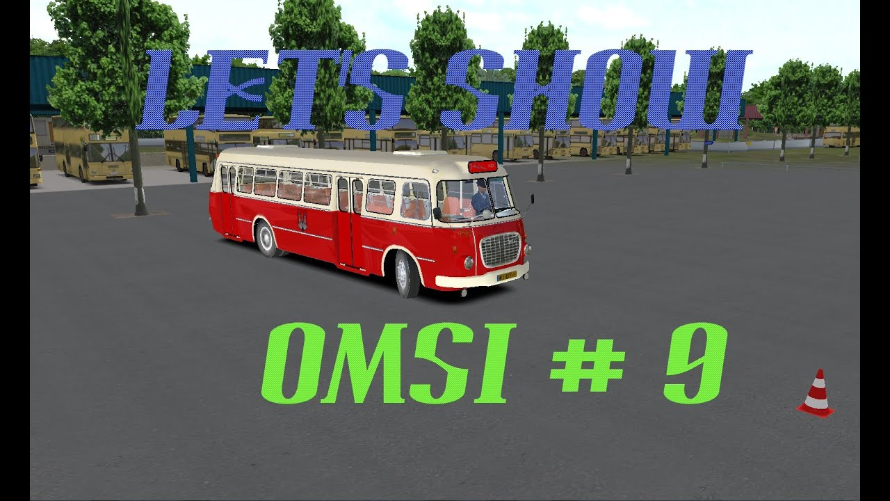 Let's Show OMSI # 9: Jelcz 272 MEX [HD/DEUTSCH] on