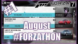 Forza Motorsport 7 August #FORZATHON 1