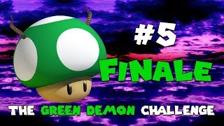 A Speedrunner Does The Green Demon Challenge (All Stages): The Finale