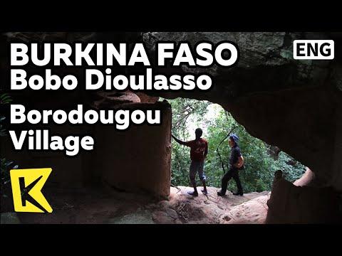 【K】Burkina Faso Travel-Bobo Dioulasso[부르키나파소 여행-보보디울라소]보로두구 마을/Borodougou Village/Cave/Shelter