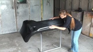 """How To Prep Your Plastic """"Bumper Cover"""" For Paint"""