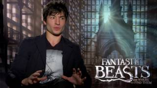 Fantastic Beasts and Where To Find Them Interview - Ezra Miller