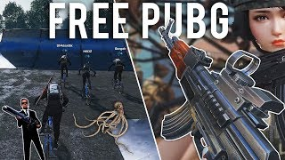 Free PUBG is getting weird now