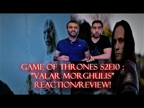 "Game of Thrones Season 2 Episode 10 REACTION/REVIEW!! ""Valar Morghulis"""