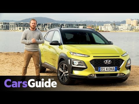 Hyundai Kona 2017 review first Australian drive video