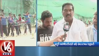 Archery Association Of Telangana Conducts State Selections | V6 News