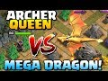 GIANT DRAGON vs ARCHER QUEEN | New Dragon's Lair MEGA DRAGON | Clash of Clans Update!