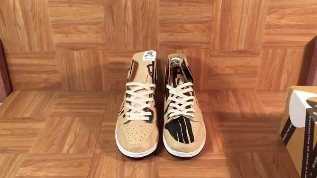 sports shoes 5d2cd 3d6d2 ShoeZeum MOCA Paper Nike Dunk SBs By Geoff McFetridge