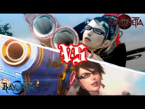 Bayonetta 2 VS Bayonetta (SWITCH) - REVIEW/COMPARISON