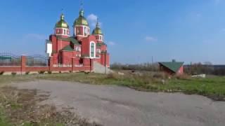 1й,2й,3й микрорайоны левого берега с квадрокоптера г. Днепродзержинск (Каменское)