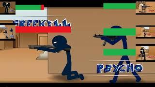 Counter Strike 1 6 DeDust2 Animation Avec Des Barres De Santé