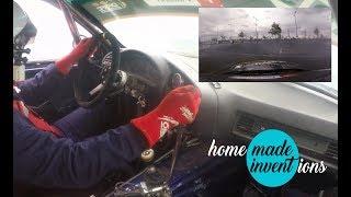 Drift race  GYMKHANA  Jan Konečný - Ježíšek BMW E36 GTR -
