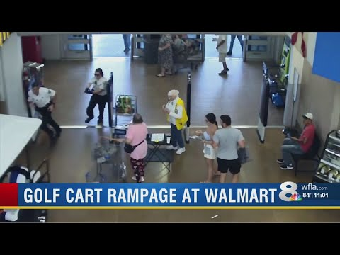 Dan Joyce - FLORIDA: Man Goes On Golf Cart Rampage In Wal-Mart