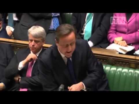 David Cameron calls Ed Balls a turkey