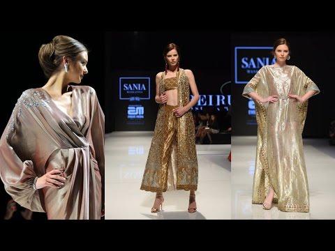 Sania Maskatiya Evening Wear Collection at Beirut Fashion Week 2017 in Lebanon