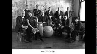 "PINK MARTINI - MIXING 2013 ALBUM ""HAPPY DAYS"""