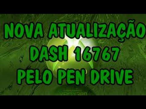 XBOX 360 NOVA ATUALIZAÇÃO DASH 16767 PELO PEN DRIVE