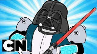 Star Wars References in Amazing World of Gumball & Teen Titans Go! | Cartoon Network