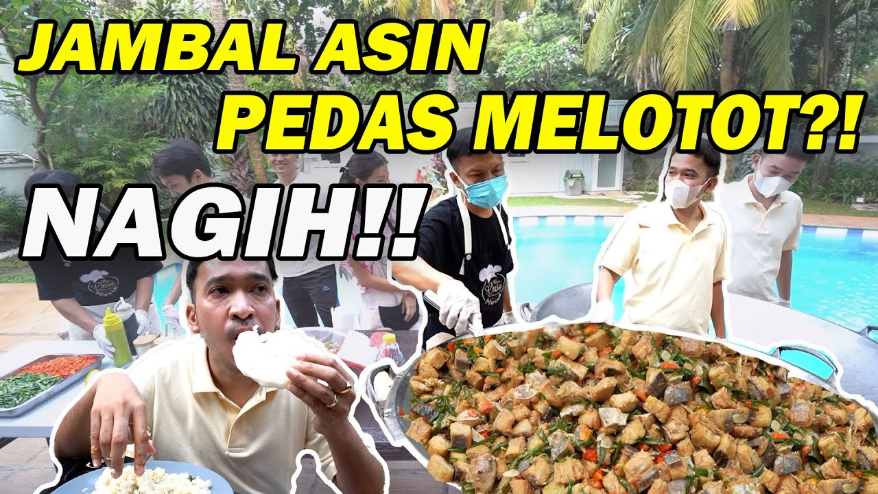 The Onsu Masak - Masakan Kesukaan Ayah Ruben. Jambal Asin SUPER SEDEP!!!