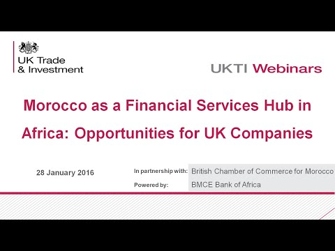 #BritChamWEBINAR: Morocco as a Financial Hub to Africa