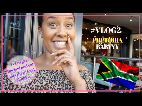 SOUTH AFRICA #VLOG2| PRETORIA