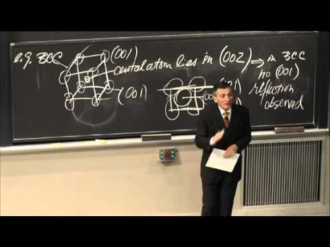 Lec 18 | MIT 3.091SC Introduction to Solid State Chemistry, Fall 2010