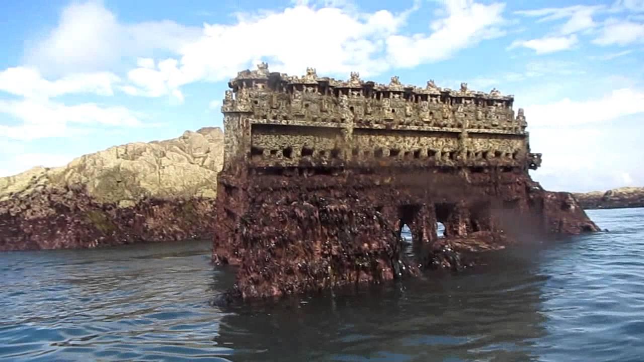M.V. Prosperity Engine Block (Guernsey) - YouTube