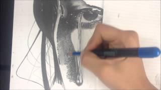 Desenho Realista - Textura de pele